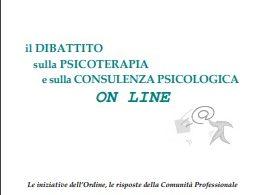 Il dibattito sulla psicoterapia e sulla consulenza on line